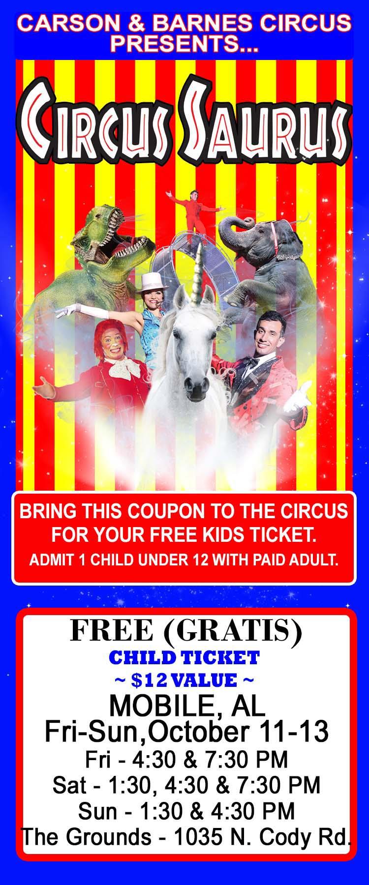 Carson 7 Barnes Circus